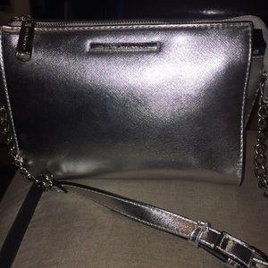 Steve Madden Silver Bag